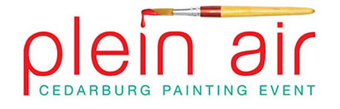 Plein Air Painting Event Logo